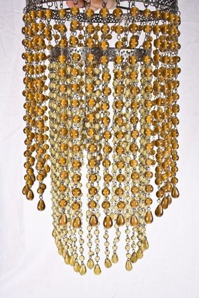 Beaded chandelier lamp shades foter chandelier lamp shades with beads aloadofball Choice Image
