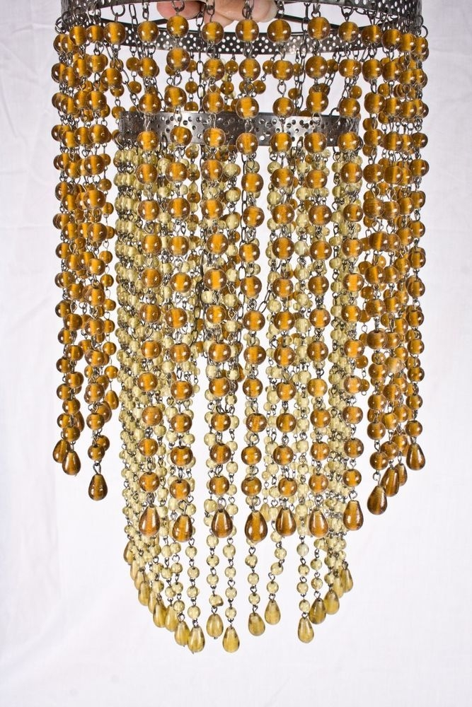 Chandelier Lamp Shades With Beads