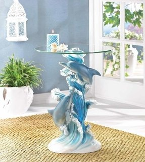 Dolphin Lamp Foter