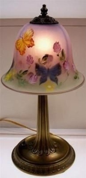 Hand Painted Glass Lamp Shades Ideas On Foter