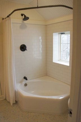 Kohler Mayflower Bath Bathtub Corner - Foter