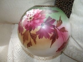 Hand Painted Glass Lamp Shades Foter
