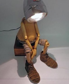 Kids Robot Lamp