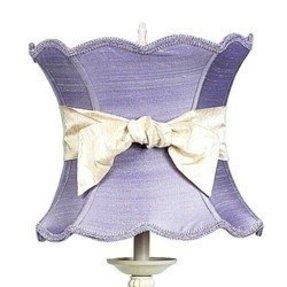 Lavender lamp shade foter large shades lavender extra large scalloped hourglass lamp shade aloadofball Choice Image