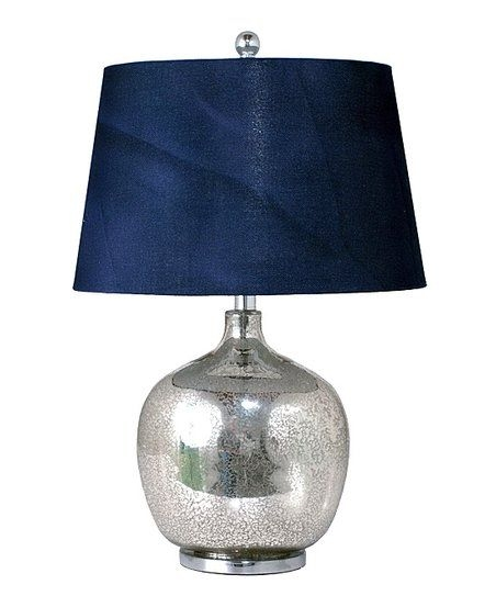 Merveilleux Navy Blue Table Lamp 1
