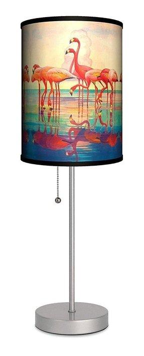 Pink Flamingo Table Lamp Foter