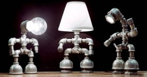 Robot desk lamp 2