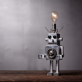 Robot desk lamp 29