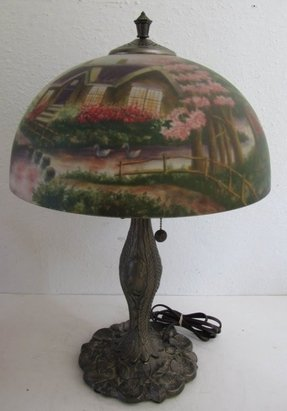 Thomas kinkade lamps 4