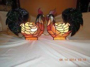 Tiffany style chicken rooster lamp 1 pair the best looking