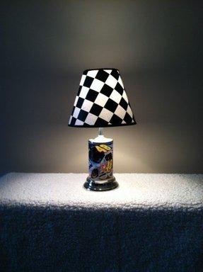 Nascar Lamp Foter
