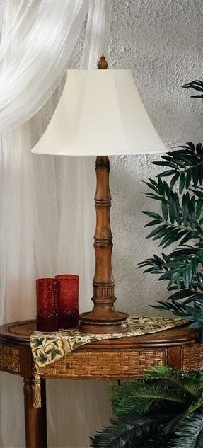 Bamboo outdoor table lamp bamboo outdoor floor lamp 1