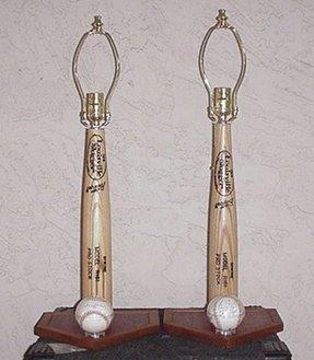 Baseball Bat Lamp Foter