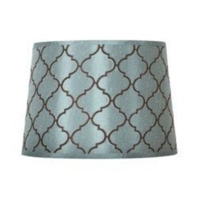 Blue chocolate lamp shade foter blue chocolate lamp shade 1 aloadofball Gallery