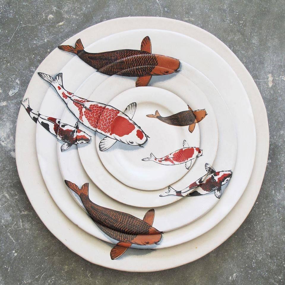 Ceramic fish plates 3 & Ceramic Fish Plates - Foter