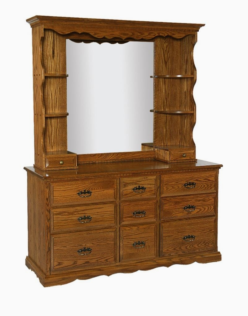 Superbe Dresser With Mirror And Shelvesfurniture Bedroom Furniture Mirror