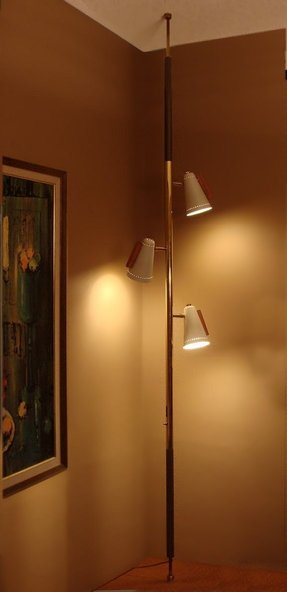 Floor ceiling pole lamp foter floor ceiling pole lamp 2 mozeypictures Image collections