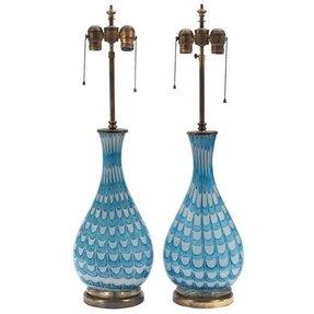 Glass murano table lamp foter glass murano table lamp aloadofball Images
