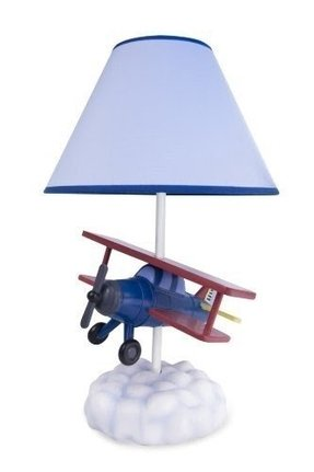 Kids airplane table lamp 2