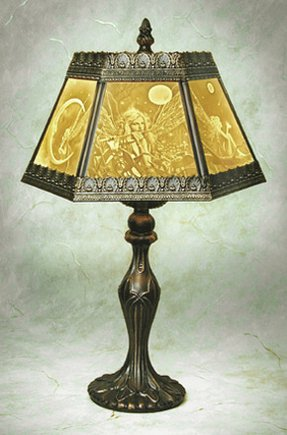 Lamp a porcelain lithophane table lamp from the porcelain garden