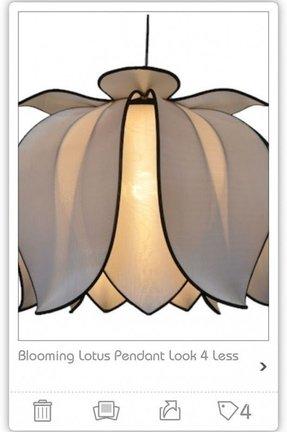 Lotus lamp shades foter lotus lamp shades 2 aloadofball Image collections