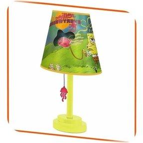Spongebob squarepants spongebob lamp foter nickelodeon spongebob squarepants die cut lamp and shade jellies aloadofball Choice Image