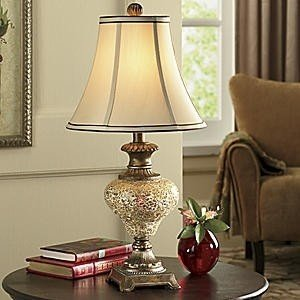 Beautiful Night Light Base Crackle Lamp