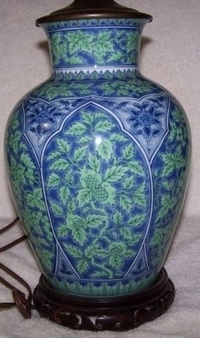 Oriental lamp bases 1