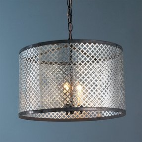 Radiator Screen Drum Shade Pendant Light Lamp Shades