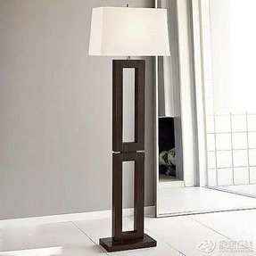 Rectangular Shade Floor Lamp - Foter