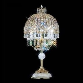 Swarovski crystal table lamp foter 93533g00 swarovski elements crystal table lamp aloadofball Images
