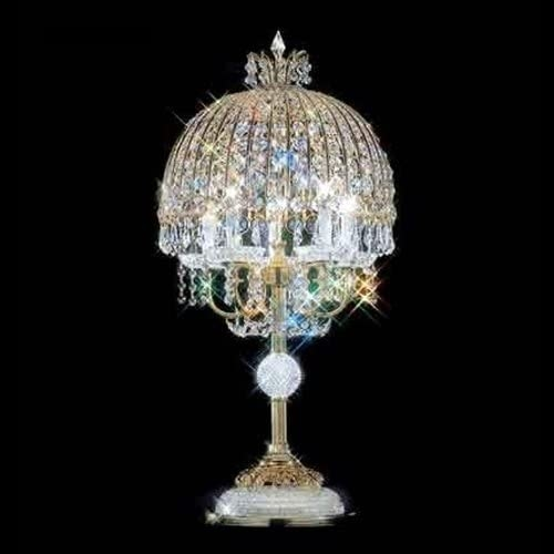 Charmant 93533G00 Swarovski ELEMENTS Crystal Table Lamp