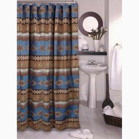 Aztec Print Shower Curtain