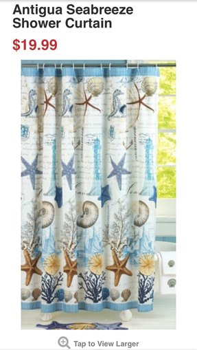 Beach Theme Shower Curtains - Foter