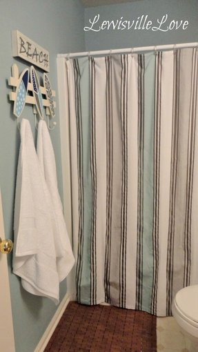 Beach Shower Curtain - Foter