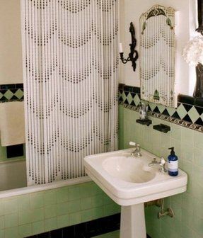 Beaded Shower Curtains 3