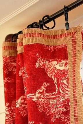 ideas country decor toile singular blue panel waverly curtain house inspirations lovely fabric photo and uk red curtains