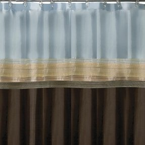 Blue Brown Shower Curtain Ideas On Foter