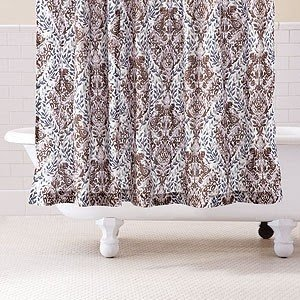 Brown And Green Shower Curtains Lime Foter Blue