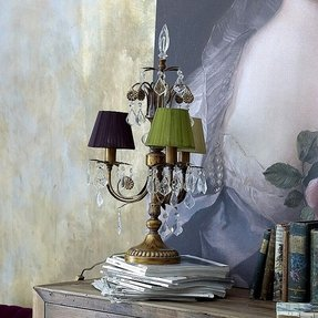 Candelabra style table lamp 2