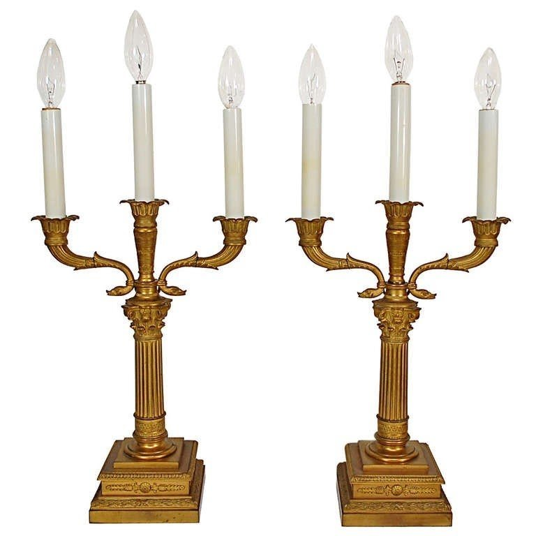 Candelabra Style Table Lamp 26