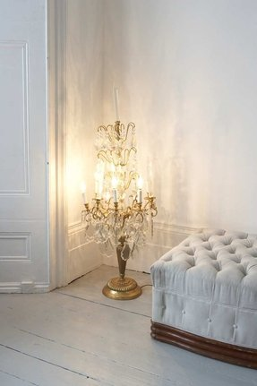 Candelabra style table lamp 27