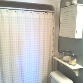 Chenille Shower Curtain 36