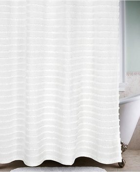 Chenille Shower Curtain 37