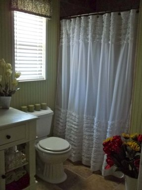 Chenille Shower Curtain Foter