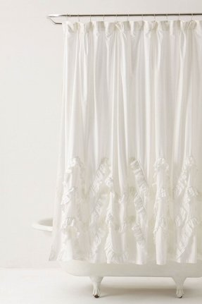 Chenille Shower Curtain 6