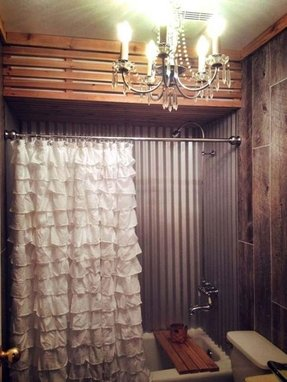 Chic shower curtains