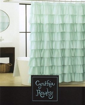 Blue Yellow Shower Curtain Foter