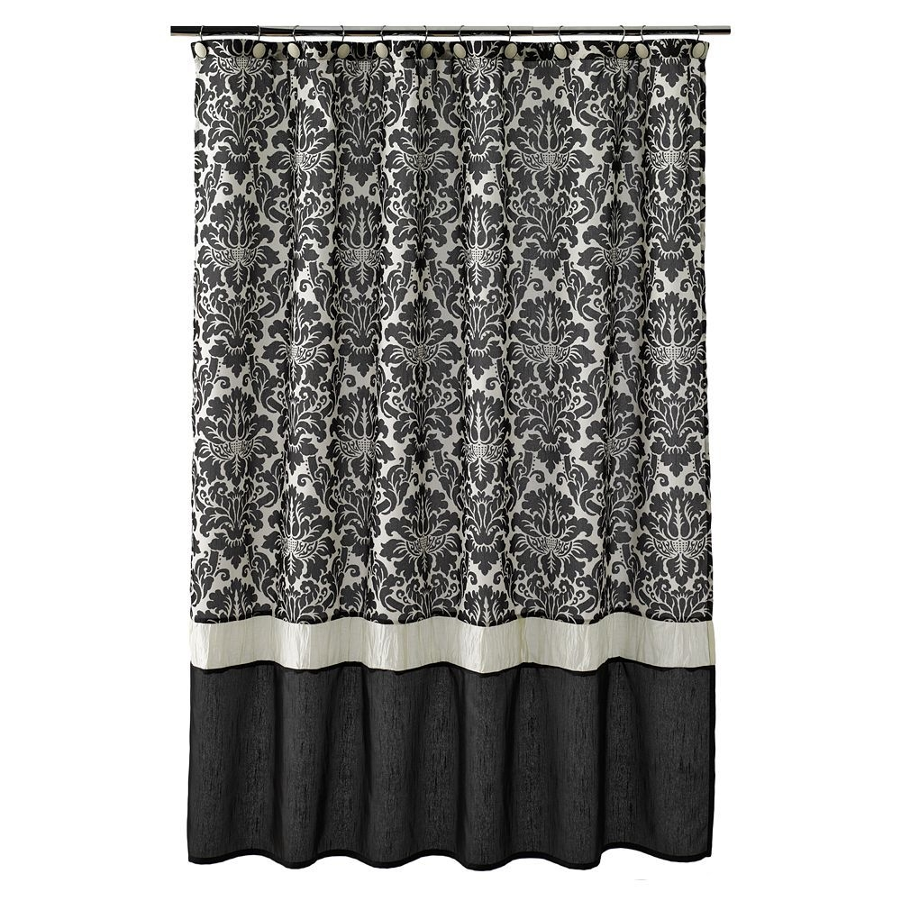 Superieur Damask Shower Curtain