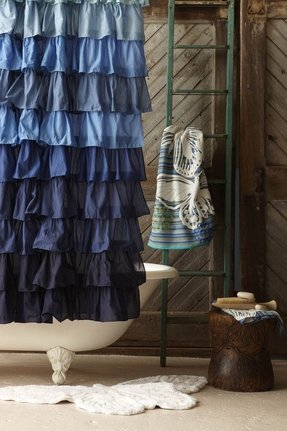Denim Shower Curtain - Foter